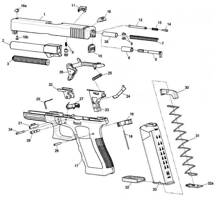 glock g17 parts list